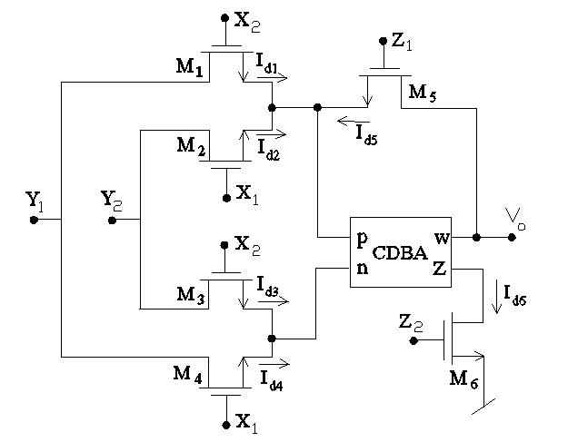 new multiplier  divider using a single cdba