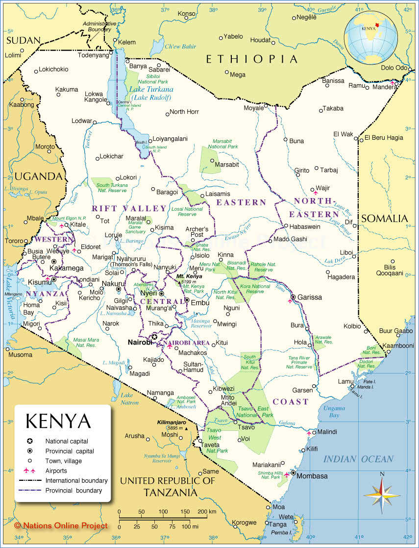 Food and nutrition scenario of kenya map of republic of kenya gumiabroncs Gallery
