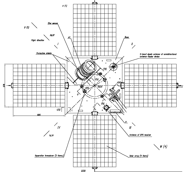 Design of the Deployment Mechanism of Solar Array on a Small