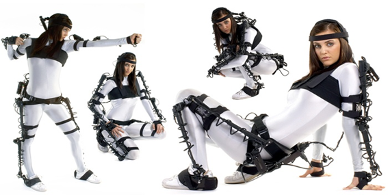 Motion Capture of Human for Interaction with Service Robot