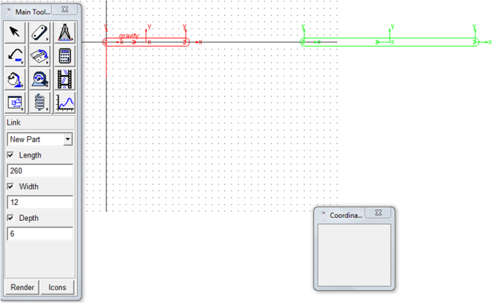 Figure 4  Creation of the member 4 of the crank rocker