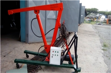 Design and Development of Portable Crane in Production Workshop