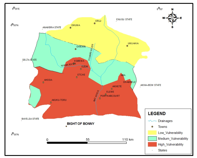 Modeling The Groundwater Quality In Parts Of Eastern NigerDelta - Aquifer oil pollution us map