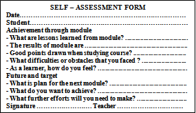 Improving the Self-Assessment Skill for Students of History