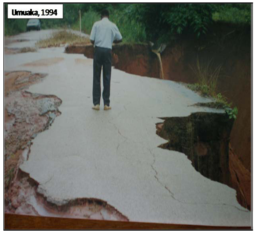 Review Of Gully Erosion In Nigeria Causes Impacts And Possible