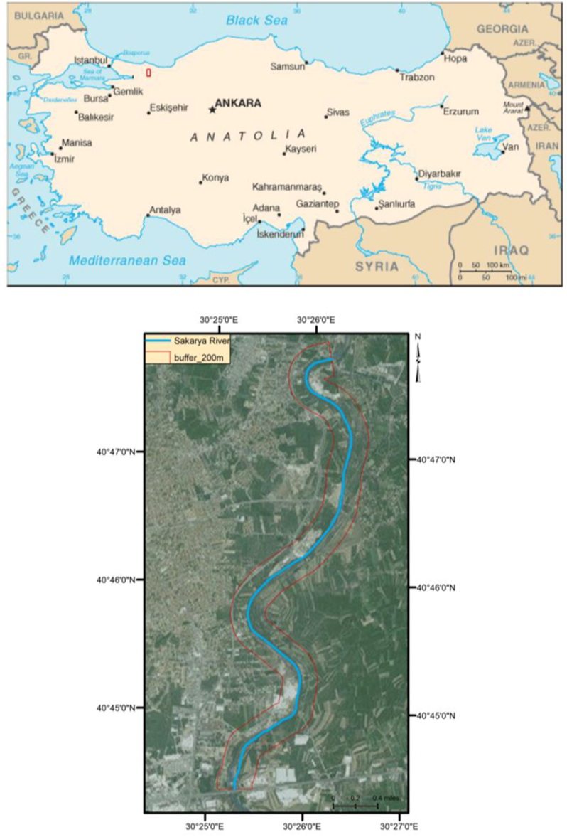 Figure 1 The location map of study area The Role of Human
