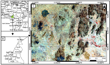 Geological Mapping of the Panafrican Mokong Gneisess and