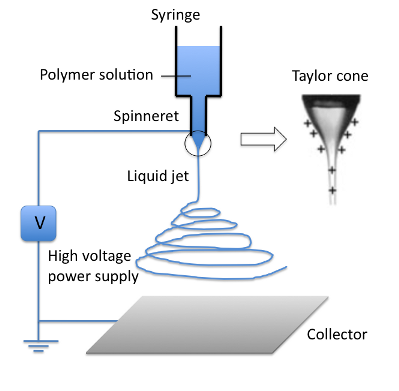 Fabrication Of Poly Caprolactone Nanofibers By