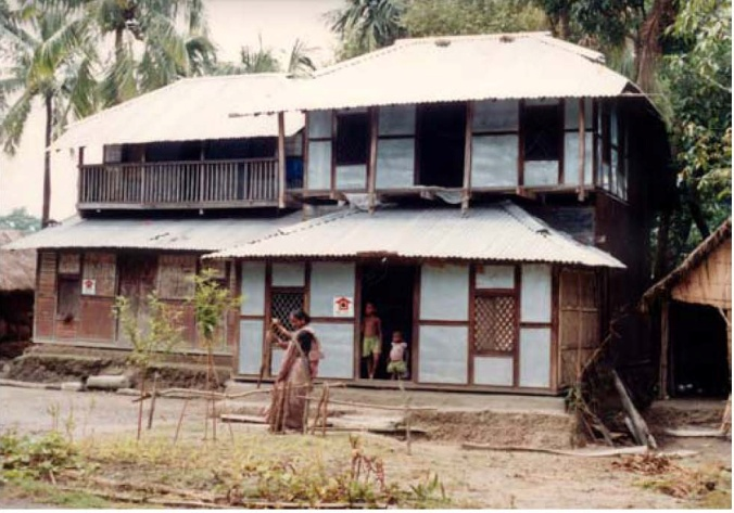 Transformation of slum and squatter settlements a way of for Bangladesh village house design