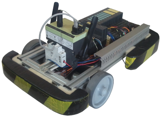 Control Of Automated Guided Vehicle With Plc Simatic