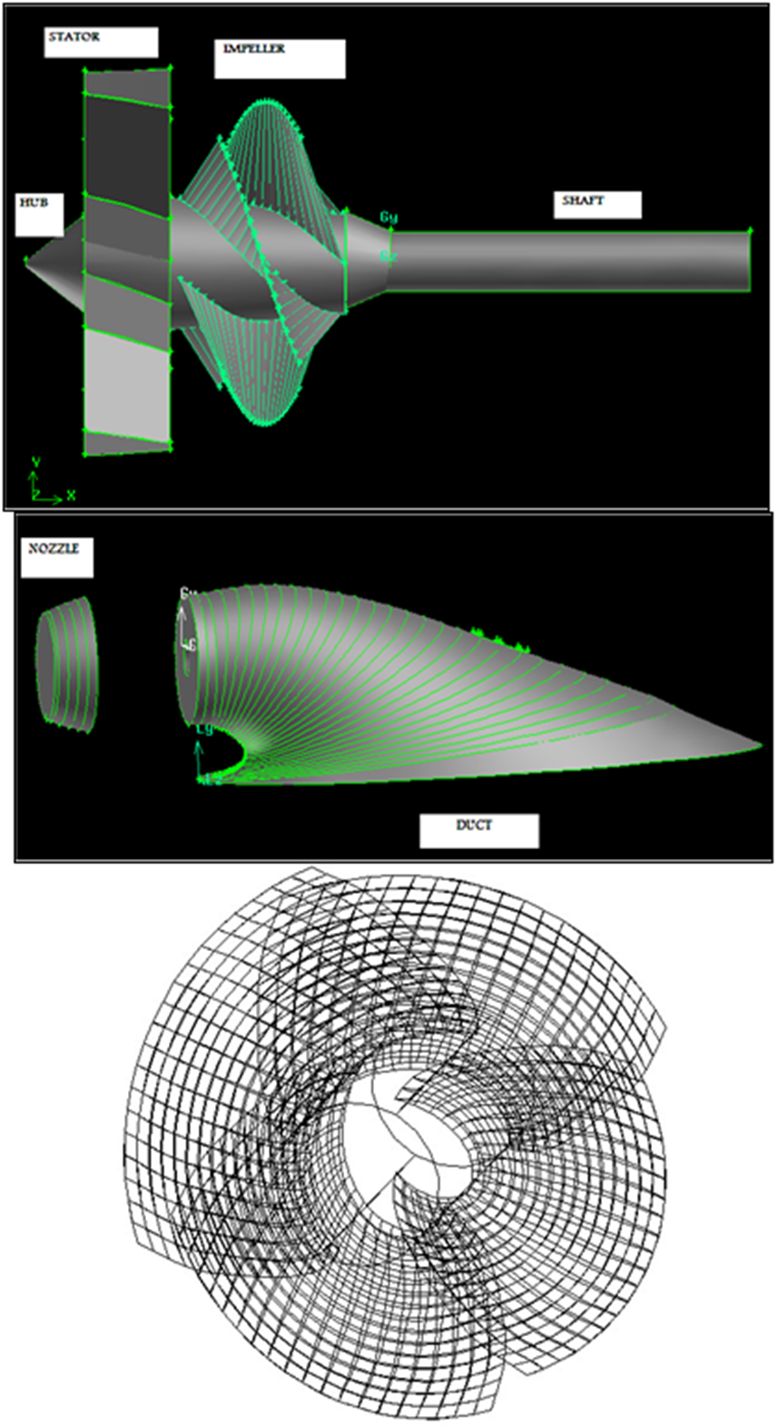 A Combined Method to Design of the Twin-Waterjet Propulsion