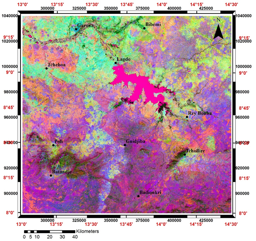 Mapping Hydrothermal Alteration Targets from Landsat 8 OLI