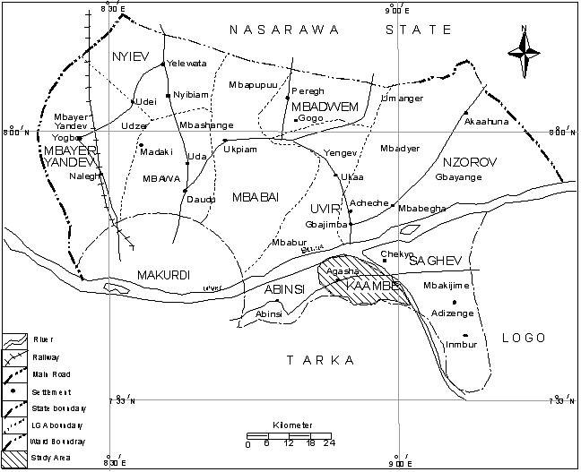 Figure 1. Map of Guma Local Government Area Showing Kaambe ... on map of abia state nigeria, map of anambra state nigeria, map of kano state nigeria, ekiti state nigeria, map of kogi state nigeria, map of yobe state nigeria, map of osun state nigeria, map of katsina state nigeria, delta state nigeria, map of jigawa state nigeria, map of oyo state nigeria, map of bayelsa state nigeria, benue river nigeria, map of ebonyi state nigeria, map of imo state nigeria, map of akwa ibom state nigeria, map of zamfara state nigeria, map of niger state nigeria, map of adamawa state nigeria, map of enugu state nigeria,