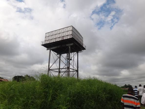 Figure 3  Existing elevated water tank : Provision of Sustainable