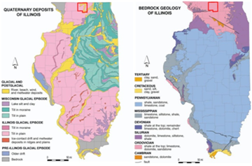 Three Dimensional Geologic Model Of The Pecatonica Gas