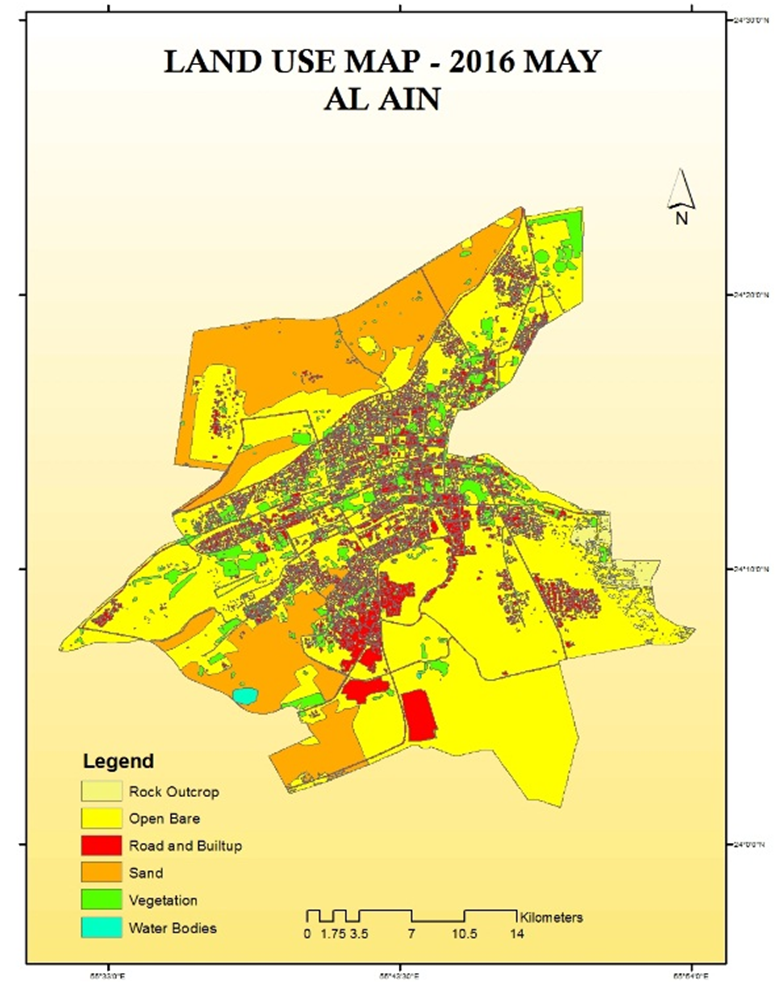 Figure 12 Land use Map 2016 Source 29 Urban Development